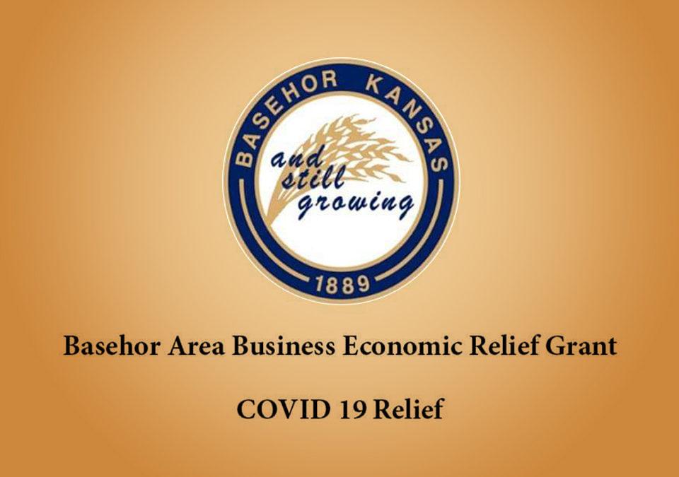 Basehor Area Business Economic Relief Grants