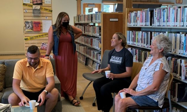 Networking and Coffee at The Basehor Community Library