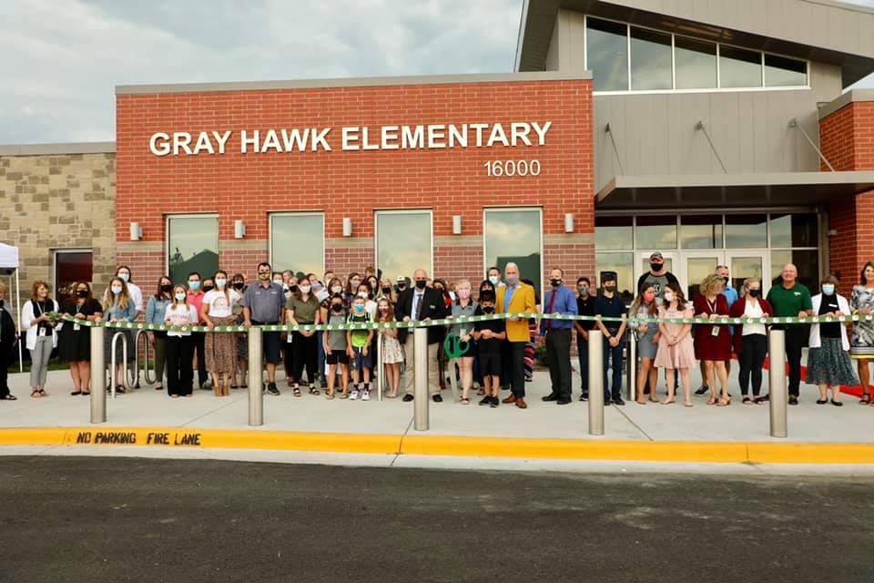 Gray Hawk Elementary School Ribbon Cutting Event